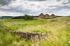 Derelict cottage at Shield on the Wall Stock Image