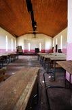 Derelict Curch hall Stock Photo