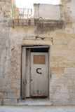 Derelict Door, Lecce Stock Photo