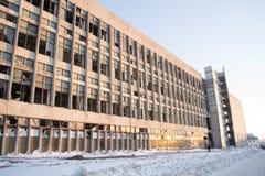Derelict Factory Stock Image