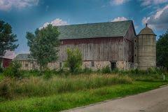 Derelict farm building. A run down old farm building Royalty Free Stock Photos