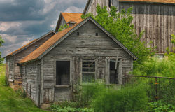 Derelict farm building Royalty Free Stock Photo