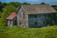 Derelict farm building. A run down old farm building Stock Photography