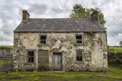Derelict farm house. An old derelict farm house in ireland Royalty Free Stock Photos
