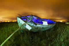 Derelict fishing boat Royalty Free Stock Images
