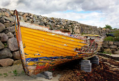 Derelict Fishing Boat Royalty Free Stock Photography