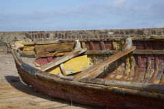 Derelict Fishing Boat Stock Photos