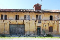 Derelict Friulian Agricultural Building Stock Photography