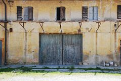 Derelict Friulian Agricultural Building Stock Photos