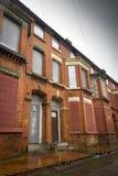 Derelict homes Royalty Free Stock Photos