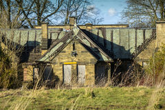 Derelict Hospital Building Royalty Free Stock Photography