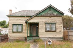 Derelict House Royalty Free Stock Photos