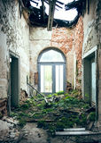 Derelict house Stock Images