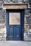 Derelict House Front Door Stock Photos