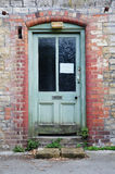 Derelict House Front Door. Front Door of an Old Derelict House Royalty Free Stock Photography