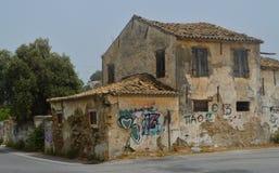 Derelict house Stock Photos