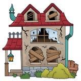 Derelict house theme image 1 Royalty Free Stock Photos