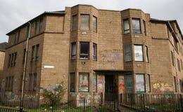 Derelict housing stock image