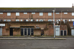 Derelict Housing Royalty Free Stock Image