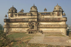 Derelict Indian Palace Stock Image