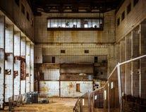 Derelict industrial interior Stock Image