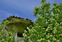 Derelict Italian Farmhouse Royalty Free Stock Photos