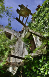 Derelict Italian Farmhouse Stock Photography