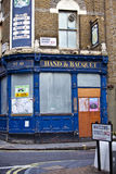 Derelict London Pub Stock Image