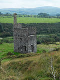 Derelict mine workings UK Stock Photography