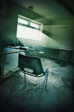 Derelict office Stock Image