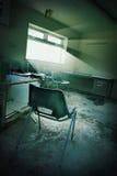 Derelict office Stock Image