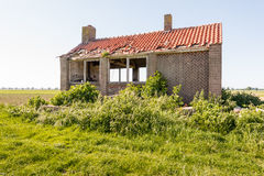 Derelict old building in a rural area Stock Photo