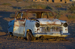Derelict old car Royalty Free Stock Photo