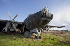 Derelict plane Stock Photography
