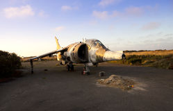 Derelict plane Royalty Free Stock Photography