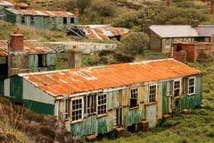 Derelict sleeping quarters. Fort Dunree. county Donegal. Ireland. Derelict quarters at Fort Dunree. county Donegal. Ireland Royalty Free Stock Photos