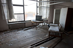 Derelict room Stock Photos