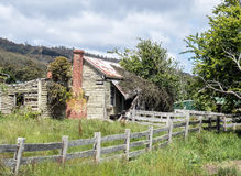 Old rural house. Derelict old house in rural Tasmania Royalty Free Stock Images