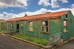 Derelict sleeping quarters. Fort Dunree. county Donegal. Ireland. Derelict quarters at Fort Dunree. county Donegal. Ireland Royalty Free Stock Photo