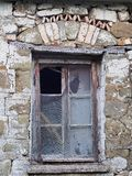 Derelict Stone Building, Greece Royalty Free Stock Image