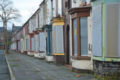 Derelict Terraces Royalty Free Stock Image
