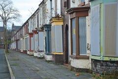 Derelict Terraces Royalty Free Stock Image