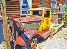 Derelict Truck Stock Image