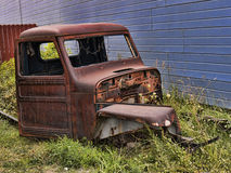 Derelict Truck in Silverton an old Silver Mining town in the State of Colorado USA Royalty Free Stock Image