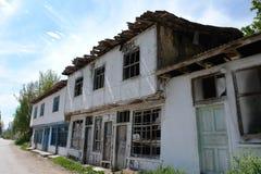 Derelict villa in Turkey Stock Images