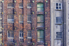 Derelict Warehousing Royalty Free Stock Photography