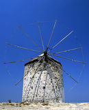 Derelict windmill Stock Image