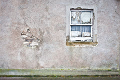 Derelict window Royalty Free Stock Photo