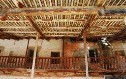 Derelict Wooden Agricultural Building Royalty Free Stock Photo
