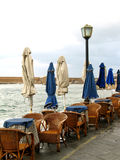 Derelicted taverna Stock Photography